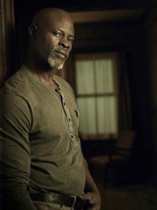 WAYWARD PINES: Djimon Hounsou as CJ in season two of WAYWARD PINES premiering Wednesday, May 25 (9:00-10:00 PM ET/PT) on FOX. ©2016 Fox Broadcasting Co. Cr: Patrick Hoelck/FOX