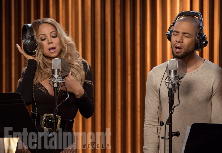 """EMPIRE """"What Remains is Bestial"""" Seaon 3, Episode 3 October†5,†2016 Mariah Carey and Jussie Smollett"""