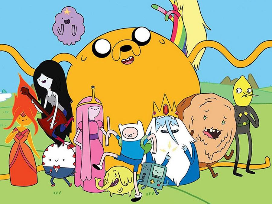 по Cartoon Network през май
