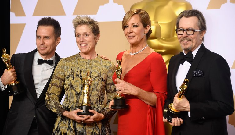 на Оскарите