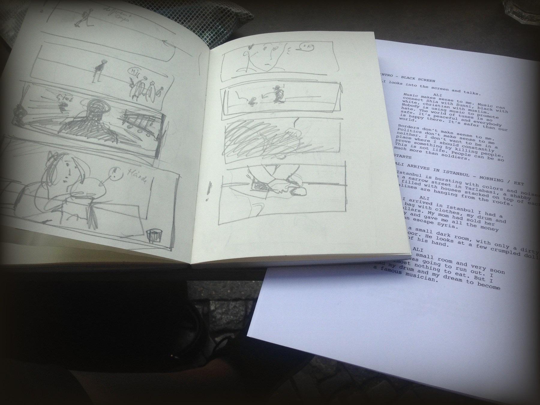 анимационна документална поредица